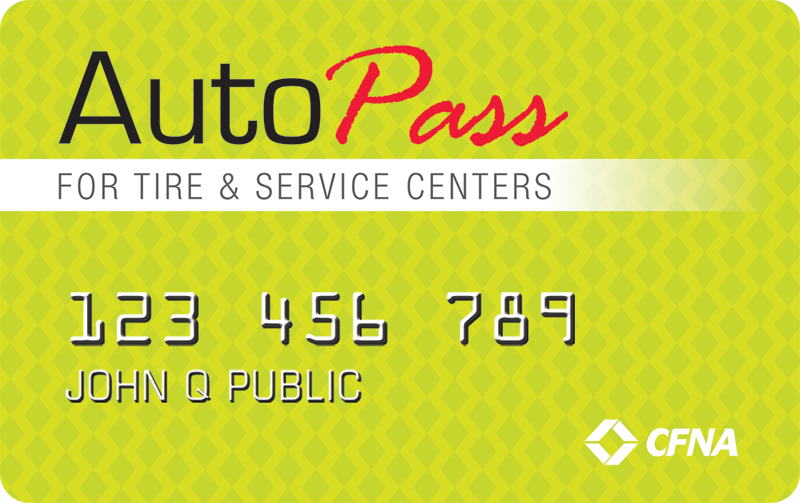 We offer the exclusive AutoPass credit card. Apply today for great benefits!